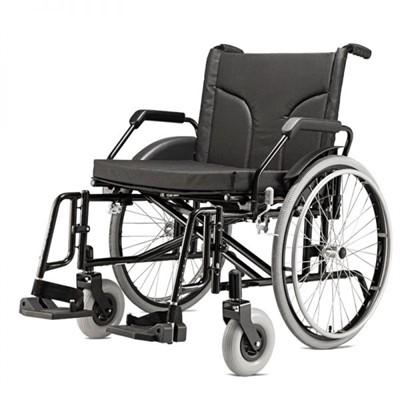 Cadeira de Rodas para Obeso Cap. 160 kg Big Baxmann